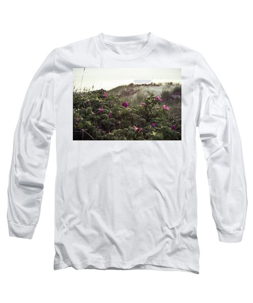 Rose Bush And Dunes Long Sleeve T-Shirt