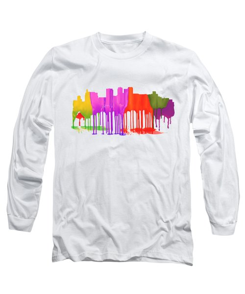 Birmingham Alabama Skyline Long Sleeve T-Shirt