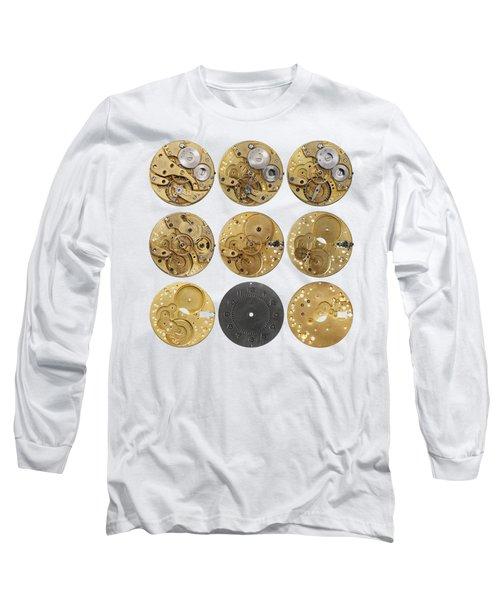 Clockwork Mechanism Long Sleeve T-Shirt