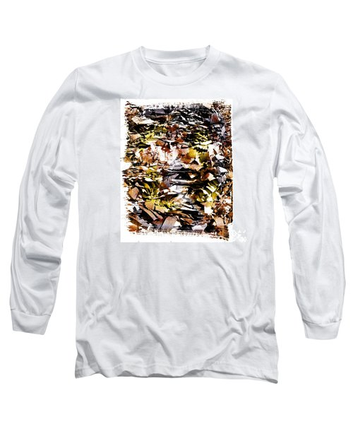 Compressed Pile Of Paper Products Long Sleeve T-Shirt