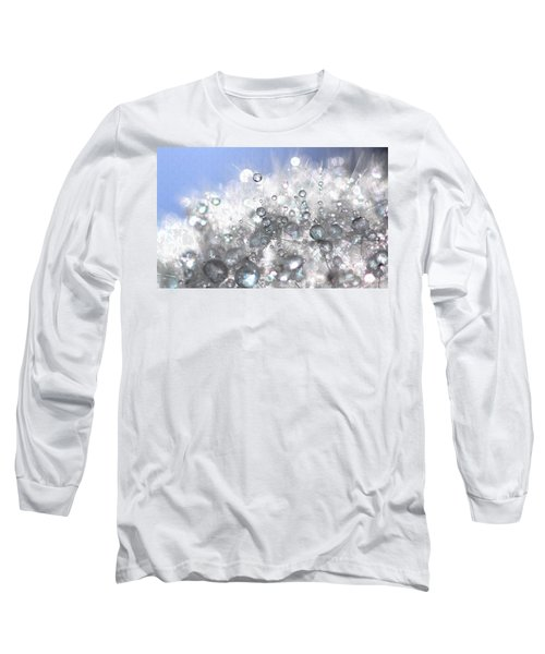 Long Sleeve T-Shirt featuring the photograph Drops by Sylvie Leandre