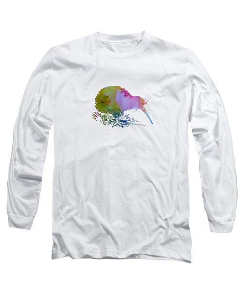 Kiwi Bird Long Sleeve T-Shirt by Mordax Furittus