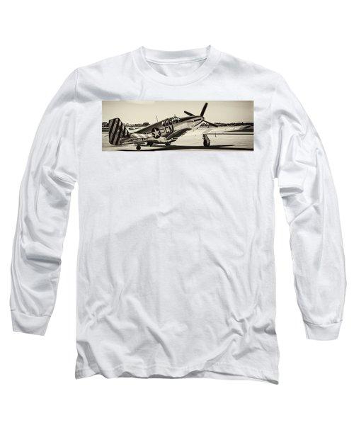 P51 Mustang Long Sleeve T-Shirt