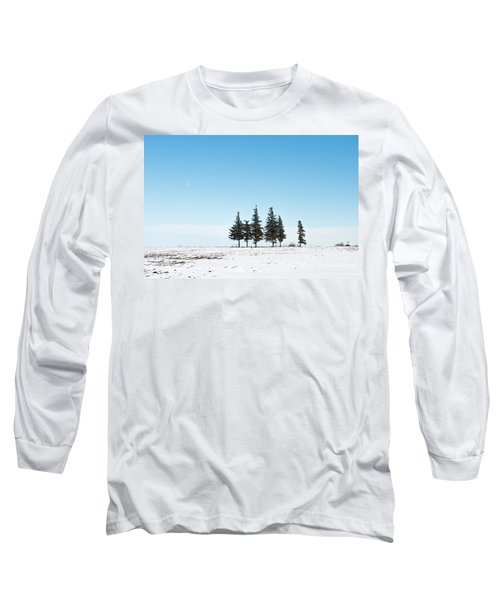 6 Pines And The Moon Long Sleeve T-Shirt