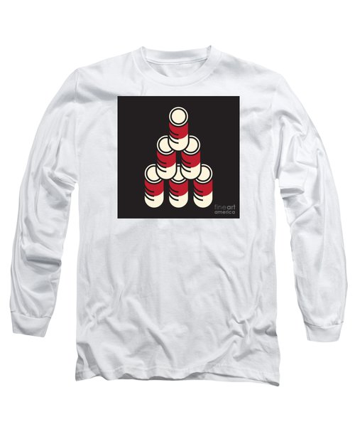 6 Soup Cans Long Sleeve T-Shirt