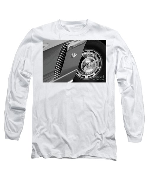 Long Sleeve T-Shirt featuring the photograph '62 In Black And White by Dennis Hedberg