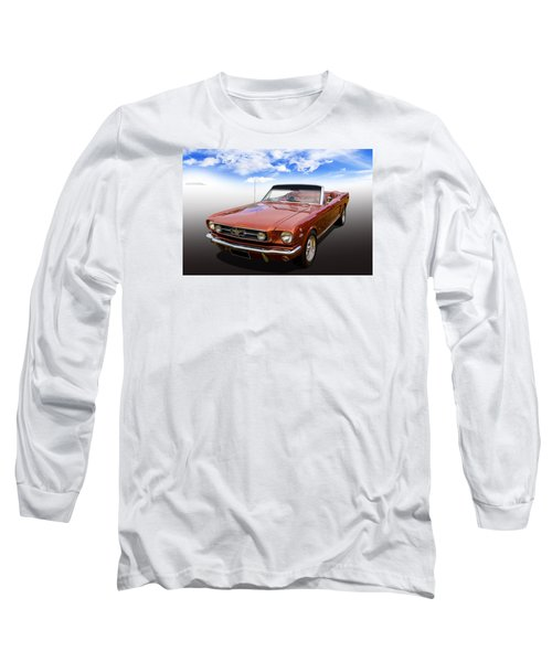 Long Sleeve T-Shirt featuring the photograph 65 Mustang by Keith Hawley