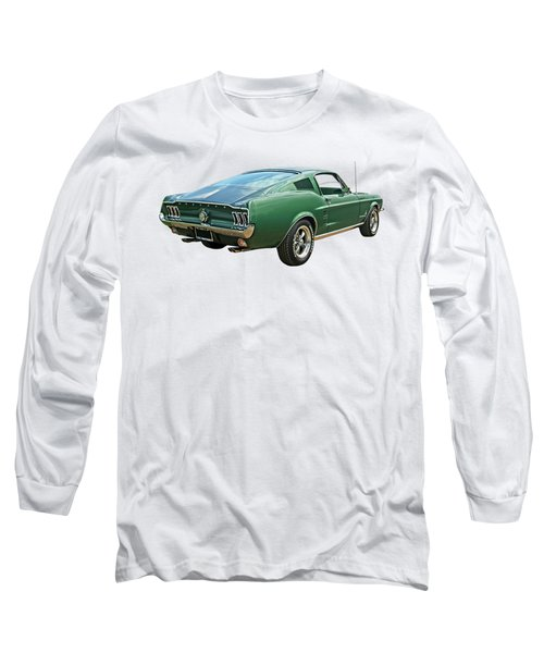 67 Mustang Fastback Long Sleeve T-Shirt
