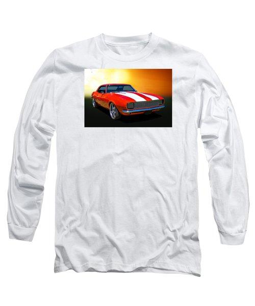 68 Camaro Long Sleeve T-Shirt by Keith Hawley