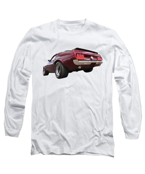 '69 Mustang Rear Long Sleeve T-Shirt
