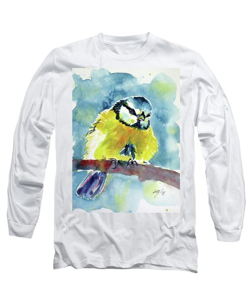 Bird Long Sleeve T-Shirt by Kovacs Anna Brigitta