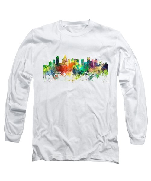 Charlotte Nc Skyline Long Sleeve T-Shirt