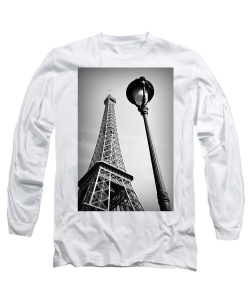 Long Sleeve T-Shirt featuring the photograph Eiffel Tower by Chevy Fleet