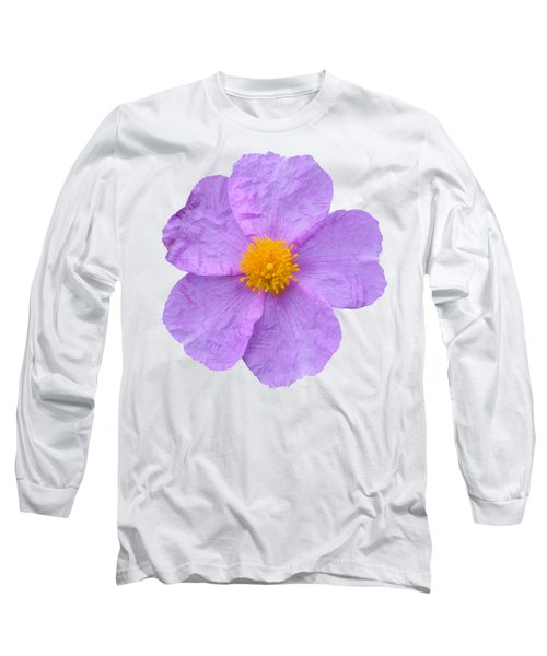 Rockrose Flower Long Sleeve T-Shirt