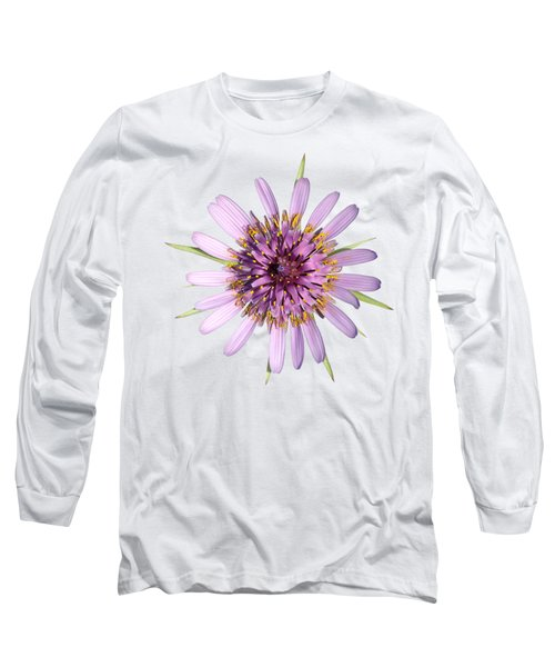 Long Sleeve T-Shirt featuring the photograph Salsify Flower by George Atsametakis