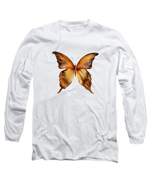 7 Yellow Gorgon Butterfly Long Sleeve T-Shirt