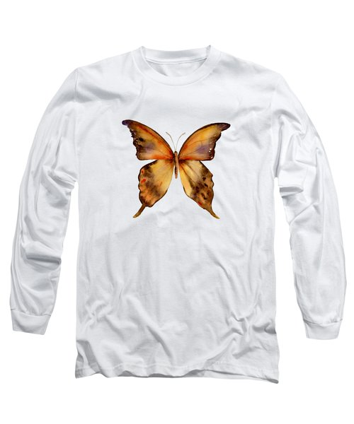 7 Yellow Gorgon Butterfly Long Sleeve T-Shirt