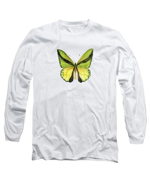 8 Goliath Birdwing Butterfly Long Sleeve T-Shirt