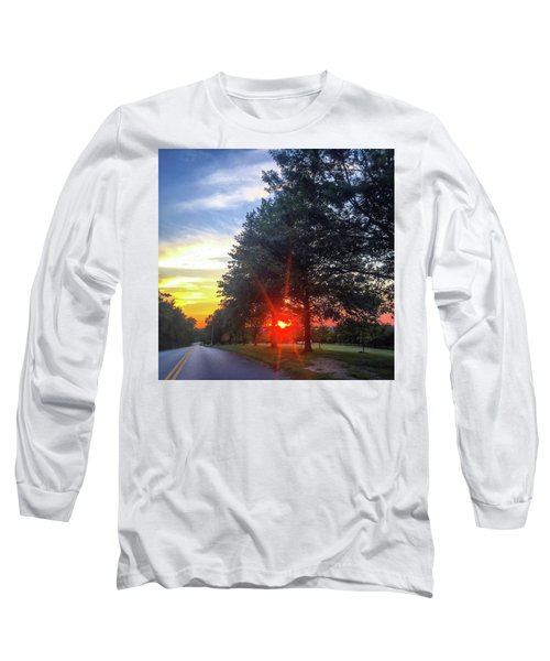 Long Sleeve T-Shirt featuring the photograph 9 June 16 Rowing Club by Toni Martsoukos