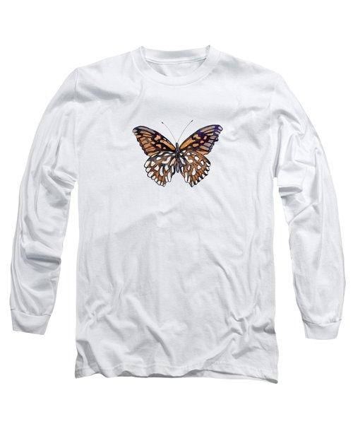 9 Mexican Silver Spot Butterfly Long Sleeve T-Shirt