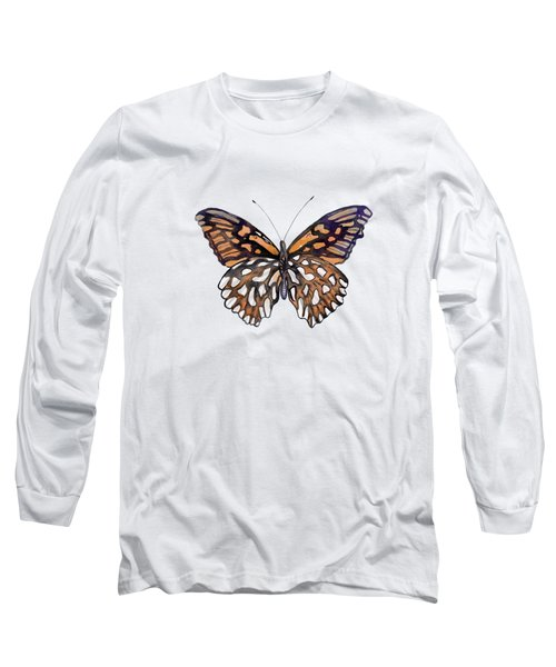 9 Mexican Silver Spot Butterfly Long Sleeve T-Shirt