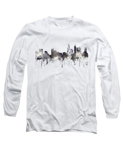 Perth  Australia Skyline  Long Sleeve T-Shirt