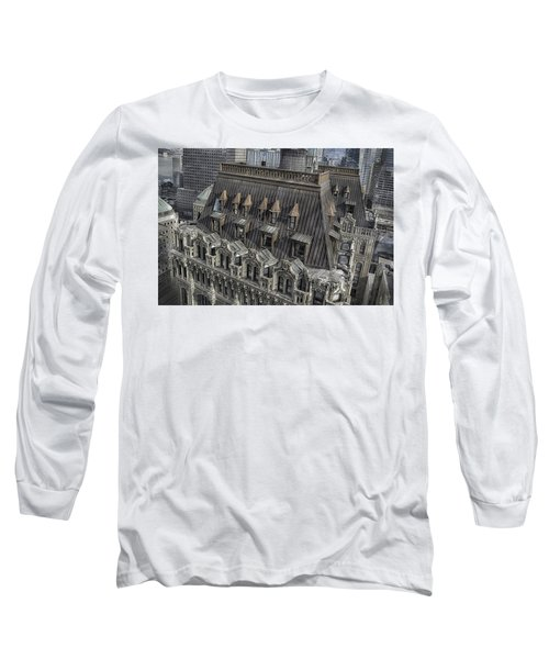 90 West - West Street Building Long Sleeve T-Shirt