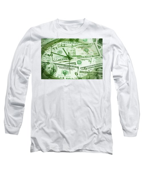 Long Sleeve T-Shirt featuring the photograph Time Is Money  by Les Cunliffe