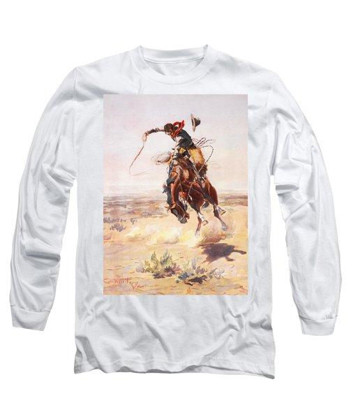 A Bad Hoss Long Sleeve T-Shirt