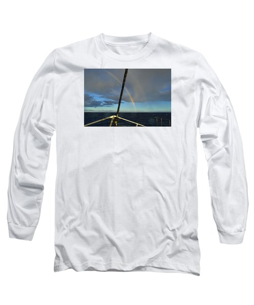 Long Sleeve T-Shirt featuring the photograph A Beautiful Day by James McAdams