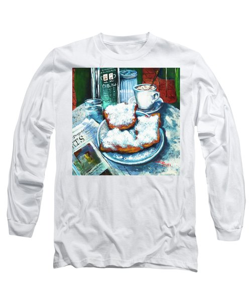 A Beignet Morning Long Sleeve T-Shirt