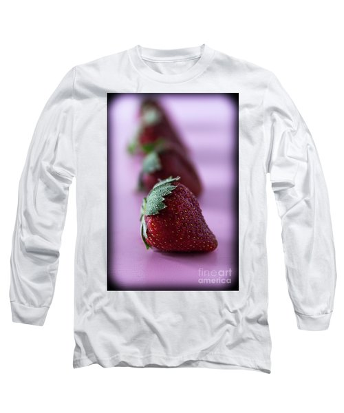 A Berry Delight Long Sleeve T-Shirt by Deborah Klubertanz