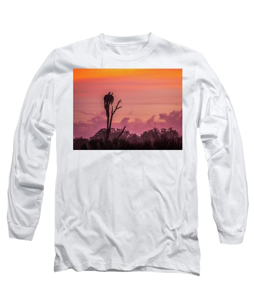 A Birdie Morning Long Sleeve T-Shirt