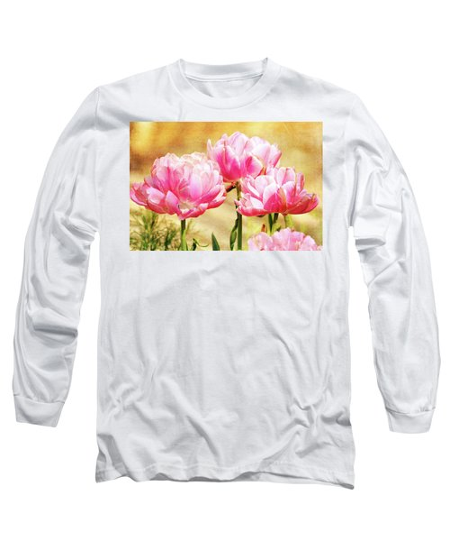 A Bouquet Of Tulips Long Sleeve T-Shirt