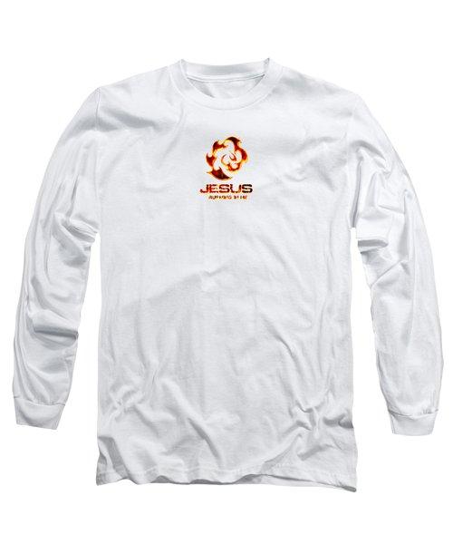 A Burning Bush Long Sleeve T-Shirt