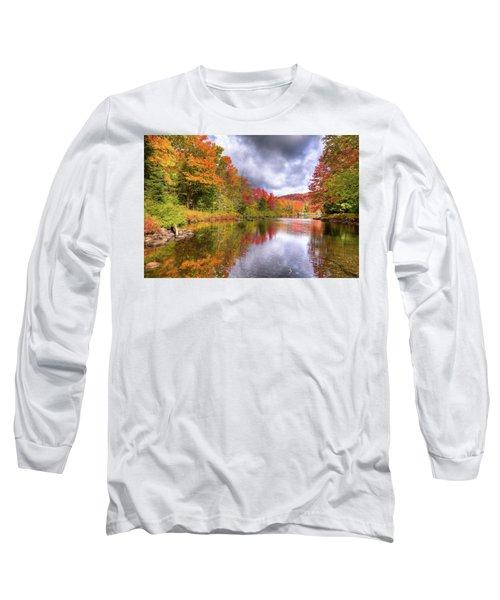 A Cloudy Autumn Day Long Sleeve T-Shirt