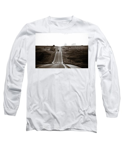A Country Mile 1 Long Sleeve T-Shirt by Marilyn Hunt