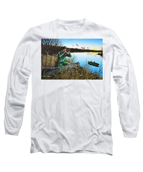 A Day At The Office - Icoo Long Sleeve T-Shirt