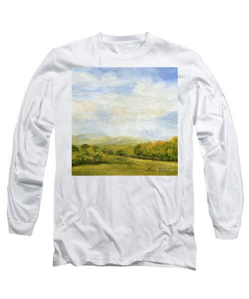 A Day In Autumn Long Sleeve T-Shirt