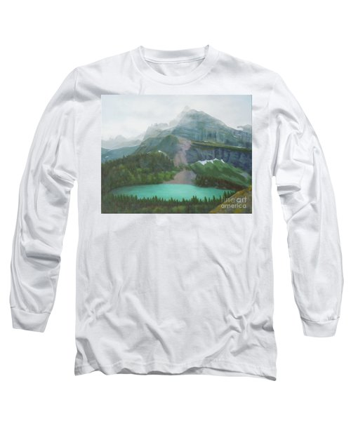 A Day In Glacier National Park Long Sleeve T-Shirt
