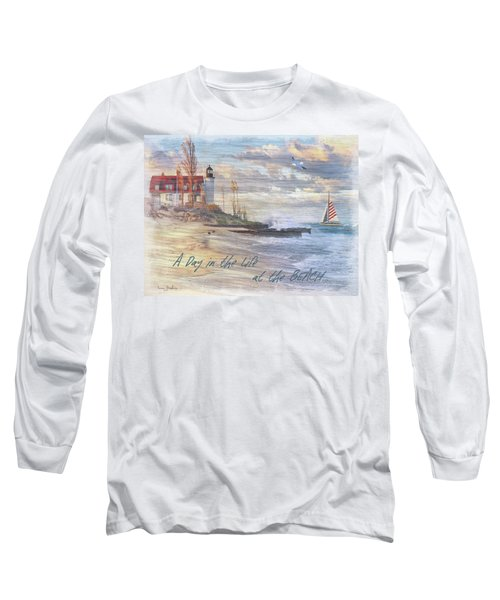 A Day In The Life At The Beach Long Sleeve T-Shirt