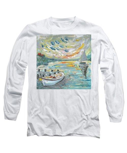 A Dutch Sunset Long Sleeve T-Shirt