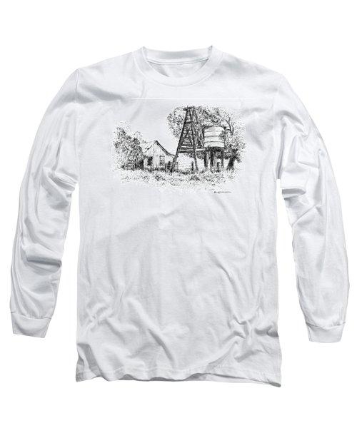 A Farm In Schroeder Long Sleeve T-Shirt