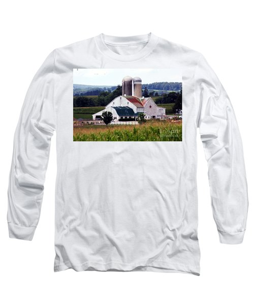 Long Sleeve T-Shirt featuring the photograph A Farmer's Paradise by Polly Peacock