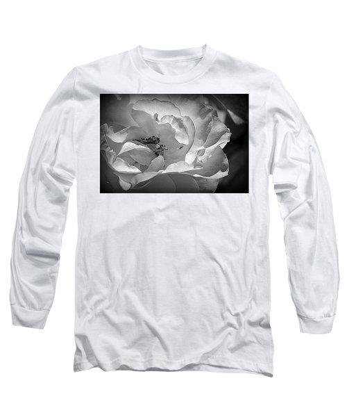 Long Sleeve T-Shirt featuring the photograph A Garden Treasure by Lori Seaman