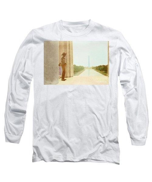 A Girl Suddenly Appears Long Sleeve T-Shirt