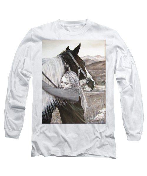 A Girls Best Friend Long Sleeve T-Shirt