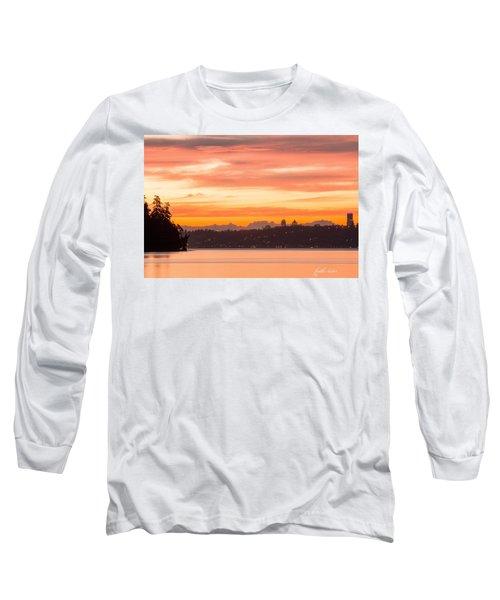 A Glaze Of Orange Long Sleeve T-Shirt