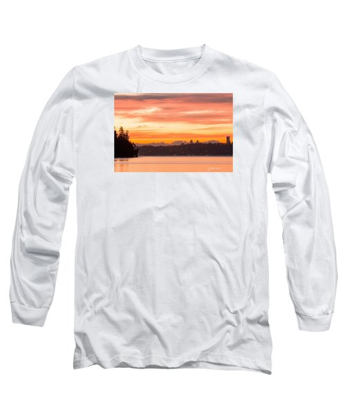 A Glaze Of Orange Long Sleeve T-Shirt