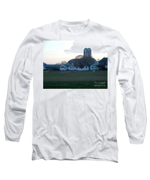 A Glorious Amish Evening Long Sleeve T-Shirt